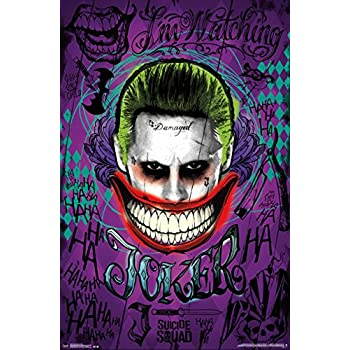 Amazon.com: Trends International Suicide Squad Joker Wall