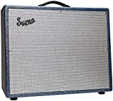 """For those players who love the huge, bold sound of the 1x15"""" Thunderbolt amp, but need a lush, all-tube reverb to fill out their sound, Supro presents the 1675RT Rhythm Master amplifier. Rooted in Supro tradition, this vintage inspired model ..."""