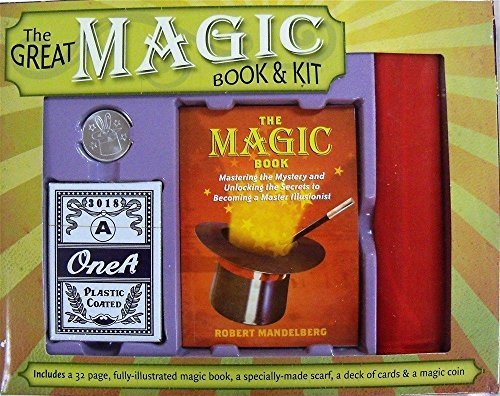 Price comparison product image Rivchell he Great Magic Book and Kit Coin Scarf Cards - Robert Mandelberg Book by cliff