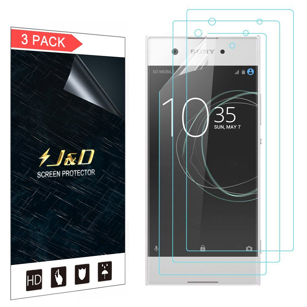 J&D Compatible for 3-Pack Xperia XA1 Screen