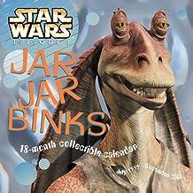 Star Wars Episode I: Jar Jar Binks 18 Month Collectible Calendar July 1999-December 2000