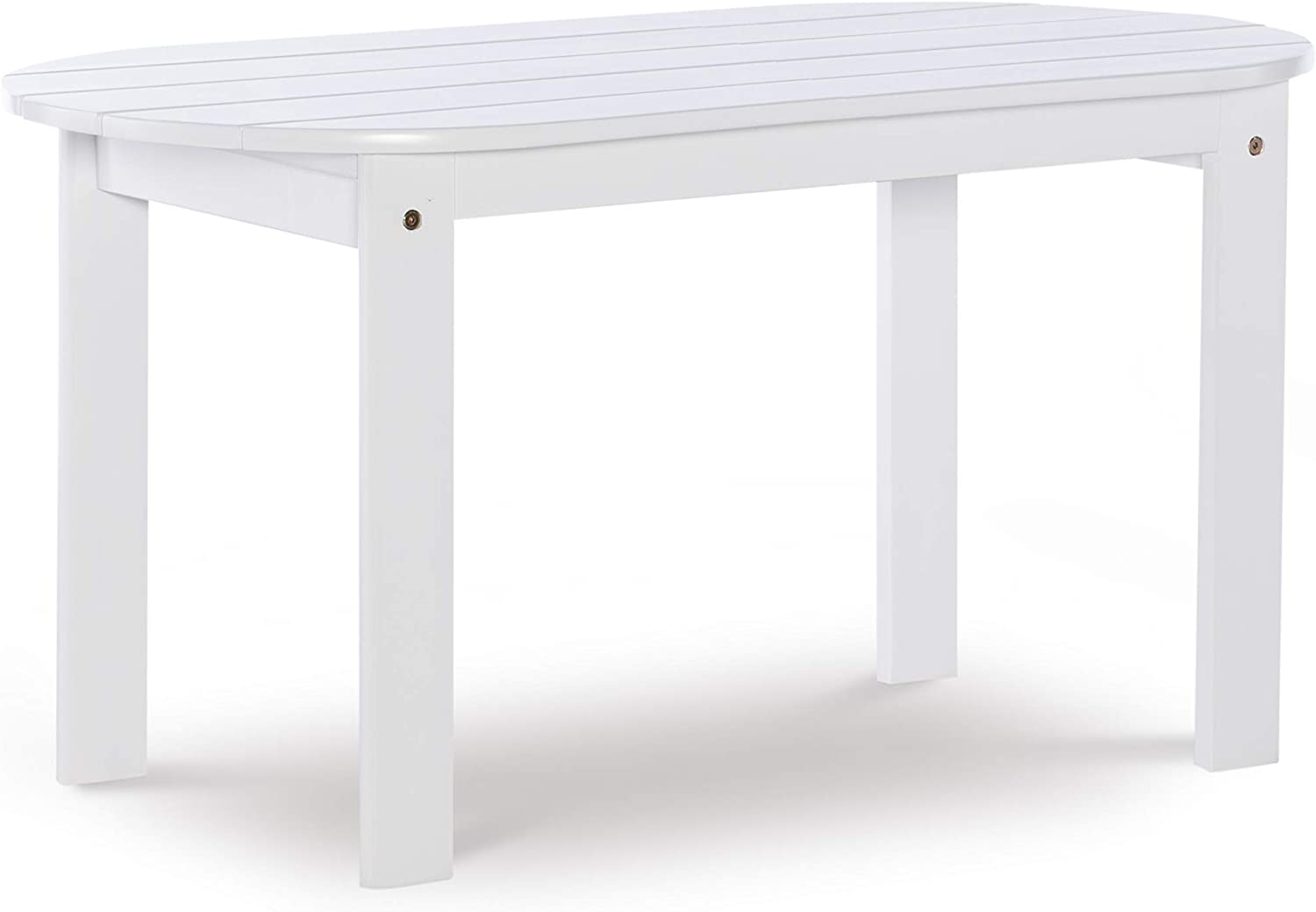 Linon Jayde Adirondack Coffee Table, White