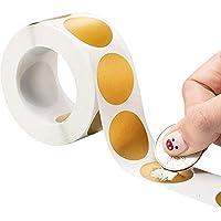 50 stks ronde rose gouden scratch-off stickers 1 inch kras uit labels voor diy handmatige label tape hand gemaakt…