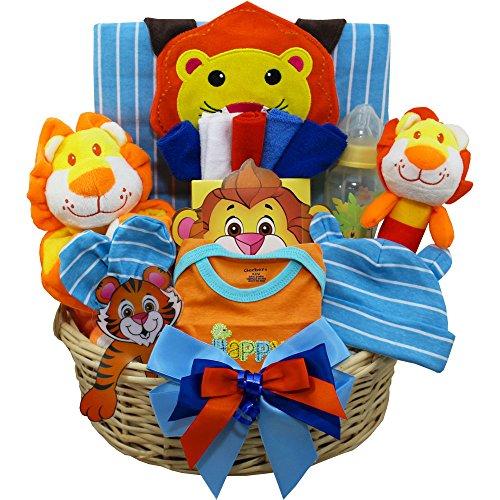 - Cuddly, Cuddly Cub Baby Boy Gift Basket