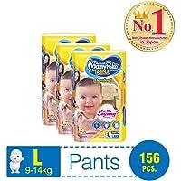 MamyPoko Standard Pants, L, Case, 156ct