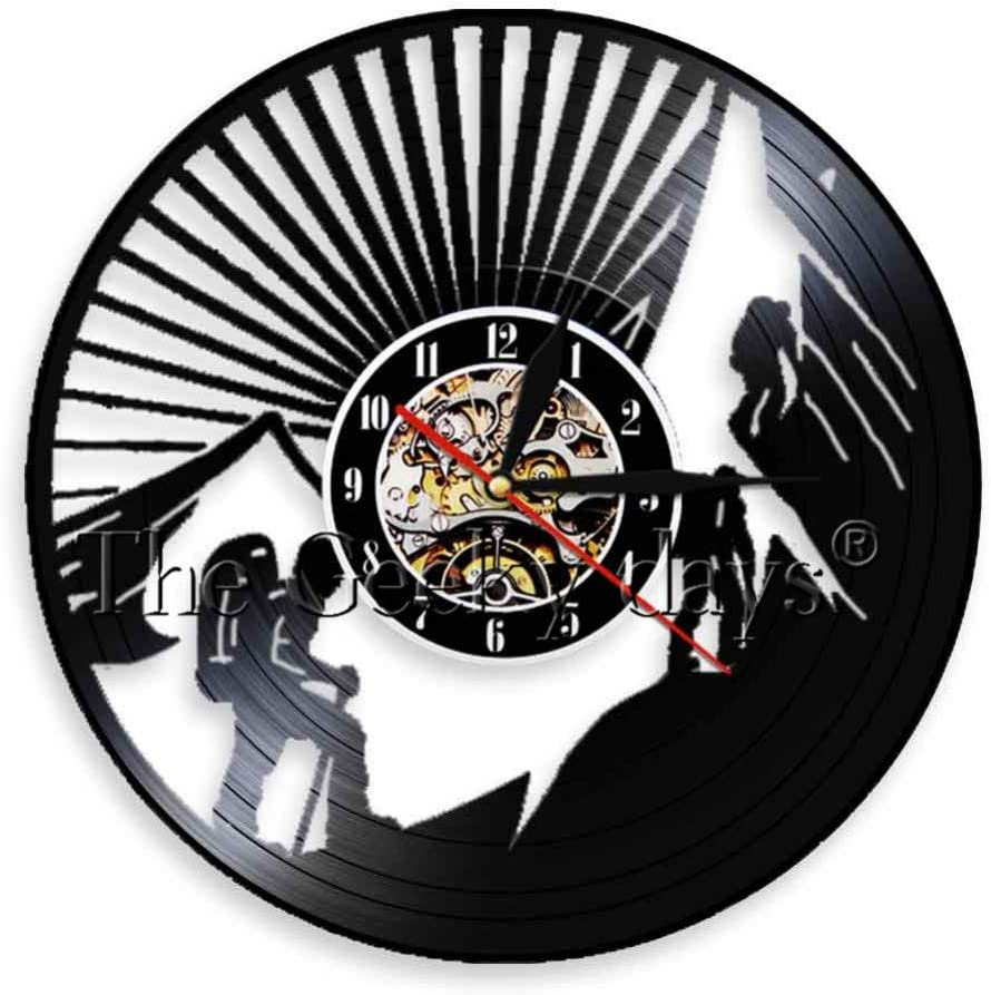 TPFEI 1 Pieza Reloj de decoración Retro Deporte Tema ...