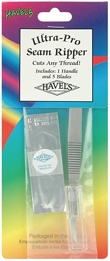 ULTRA-PRO SEAM RIPPER w//5 BLADES from Havel/'s Inc. *NEW*