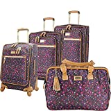 Steve Madden Luggage 4 piece Spinner Suitcase Collection
