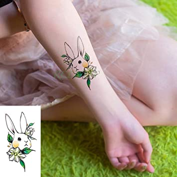 adgkitb 5piezas Impermeable Tatuaje Temporal Pegatina Gato coño ...