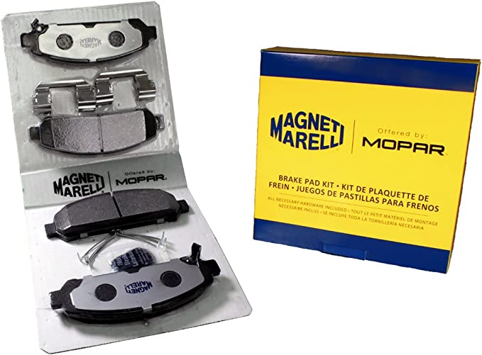 Magneti Marelli by Mopar 1AMV301293 Disc Brake Pad Set