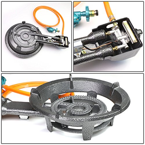 Magshion Outdoor Camping Picnic Gas Propane Burner Stove Single BBQ Cooking