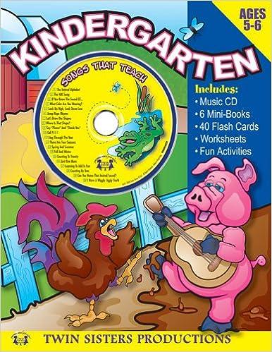 Amazon.com: Kindergarten Workbook (9781575838182): Twin Sisters ...