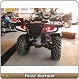 Polaris Sportsman 400 450 500 570 800 (2011-2018) Quad ATV Bison Rear Bumper Brush Guard