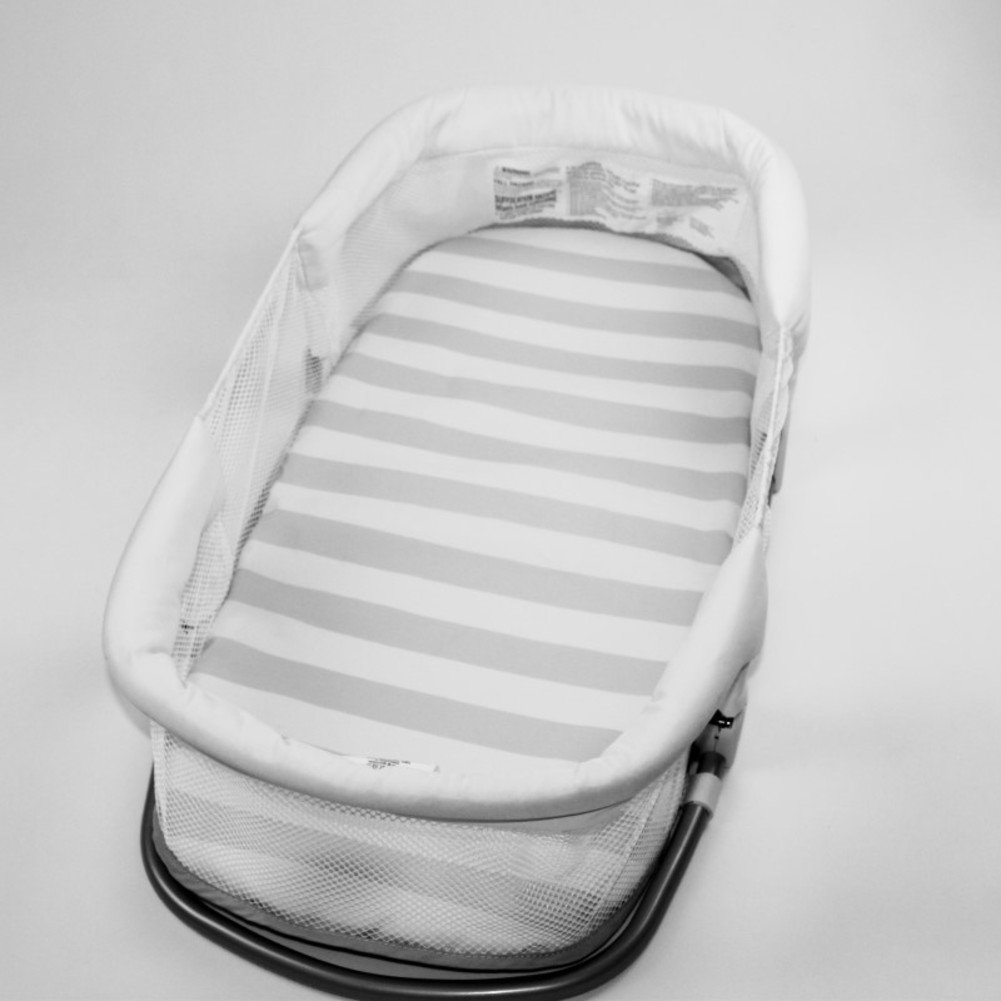 Aik@ Portátil Cama de bebé Colecho,Cuna Plegable Cuna de viaje Poliester Hipoalergénico Transpirable Nido niño Adecuado Para 0-1 año Bebé-A ...
