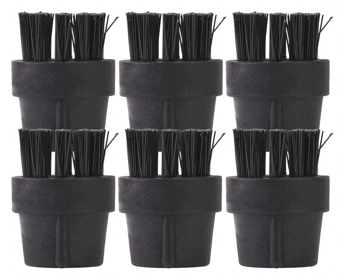 Black Nylon Brush, For Use With Mfr. No. GVC-18000, 6 PK