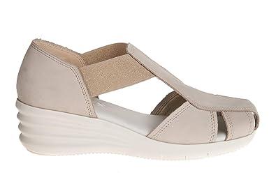 The FLEXX Scarpe Sandalo Donna E3017 03 Nubuck off White