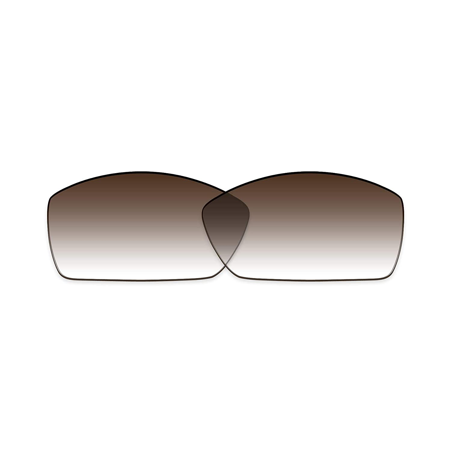 ToughAsNails Polarized Lens Replacement for Costa Del Mar Corbina Sunglass Brown Gradient