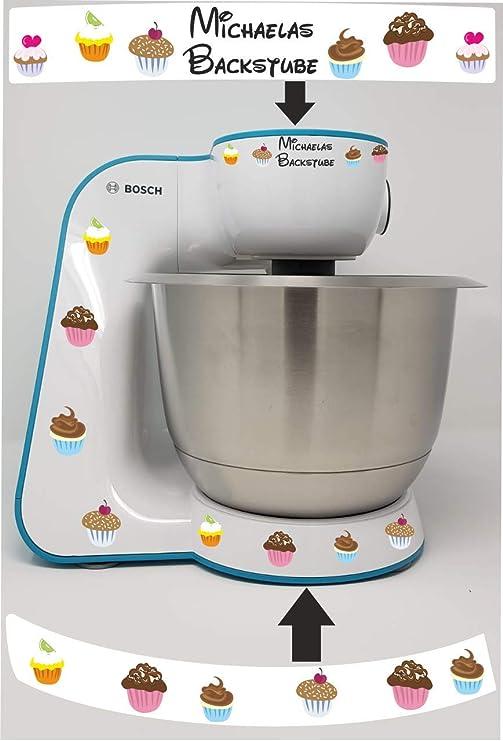 Pegatina para Bosch MUM 5 Muffin Name carbón: Amazon.es: Hogar