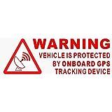 Lote de 5 pegatinas de alarma Viper y GPS rastreador, 87 x ...
