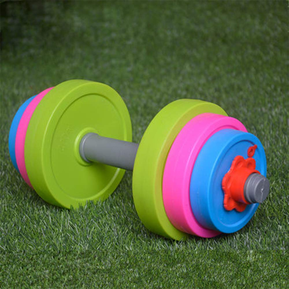 Fill with Beach Sand or W Liberty Imports Adjustable Dumbbell Toy Set for Kids