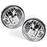 For 2007-2014 GMC Sierra 1500 2500HD 3500HD Pickup Bumper Driving Fog Lights Lamps Left