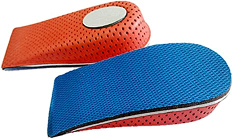 Height Taller Elevator For Men Women Shoes Insole Cushion Heel Lift Insert Pad