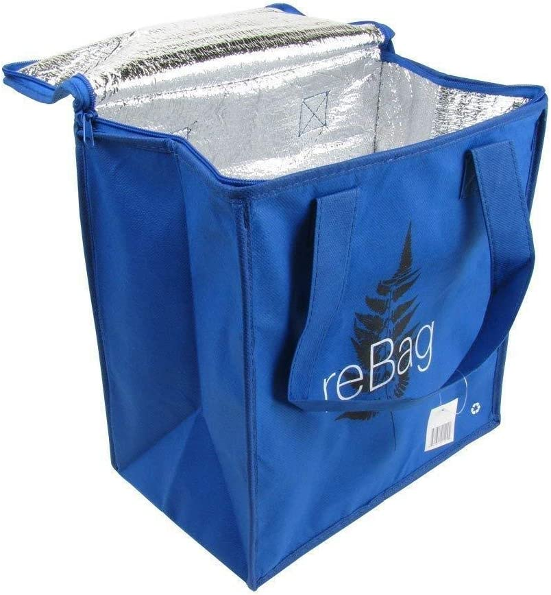 2 Pack Large Insulated Reusable Grocery Bag Shopping Hot Cold Thermal Cooler