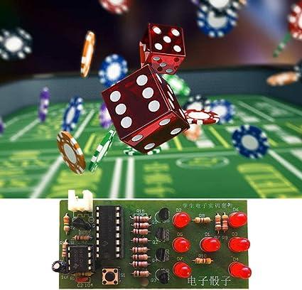 Kit de dados electrónicos 4,5~5 V DIY LED Kit de dados para diversión electrónica producción Set: Amazon.es: Bricolaje y herramientas