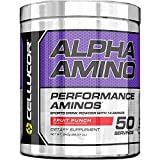 Cellucor Alpha Amino EAA & BCAA Recovery Powder, Essential & Branched Chain Amino Acids Supplement, Fruit Punch, 50 Servings