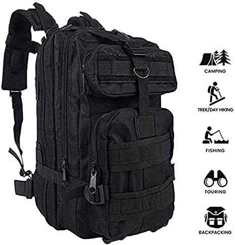 25L Military Tactical Army Rucksack Molle Backpack Camping Hiking TOP QUALITY UK