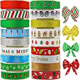 Lulu Home Christmas Ribbons, 90 Yards Holiday
