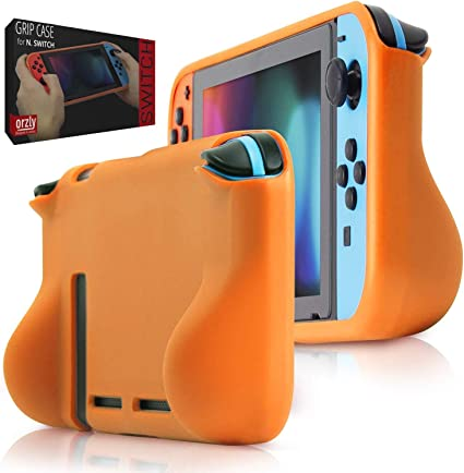 Orzly Funda Grip Case para la Nintendo Switch – Carcasa Protectora con puños de Mano Rellenos Integrados para la Parte Posterior de la Consola Nintendo Switch en su Modo Gamepad: Amazon.es: Electrónica