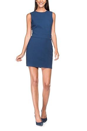 Salsa - Robe classique bleu marine - Femme - Bleu  Amazon.fr ... ad74e2448501
