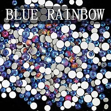 Rainbow Mix of Swarovski® Flatback Crystals No Hotfix