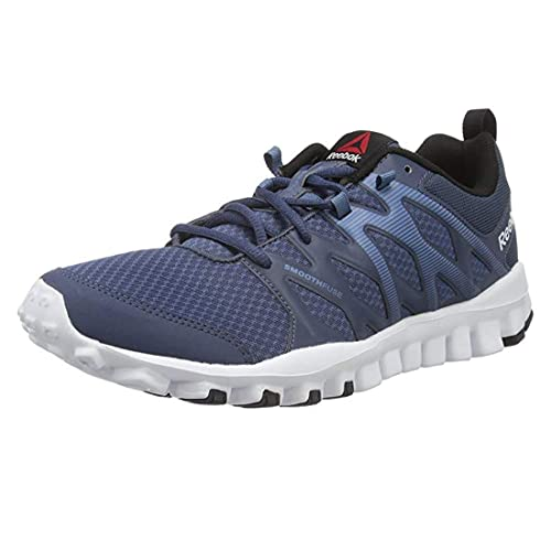 e46402ebf1ee09 Reebok Men s Indoor Multisport Court Shoes Blue Size  6.5 UK  Amazon.co.uk   Shoes   Bags