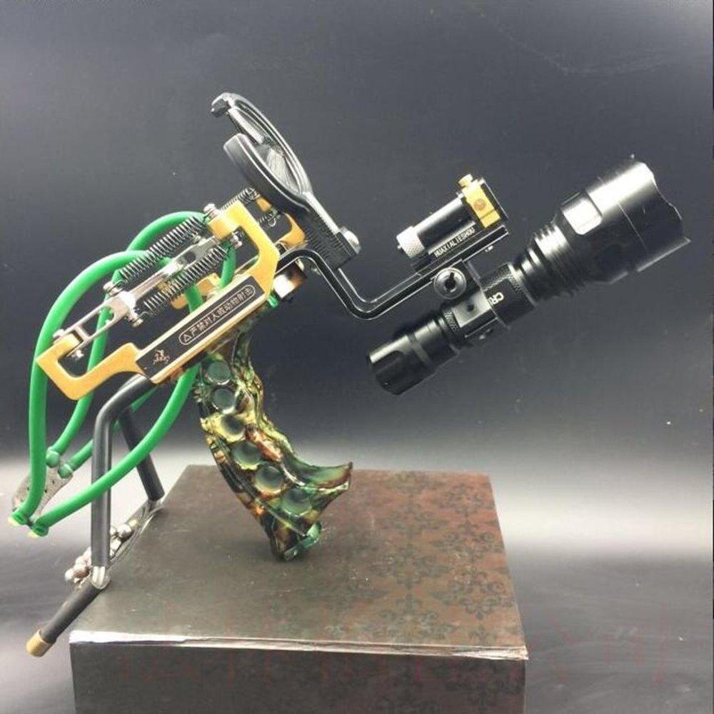 HBG New Archery Arrows Slingshot Set Hunting Laser High Velocity Catapult Slingshots Outdoor Bow Fishing Slingshots by HBG