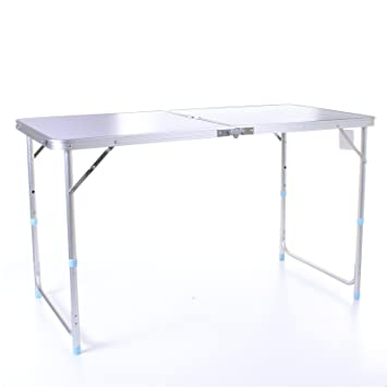Marko Outdoor 4 ft Table de camping pliante portable en ...