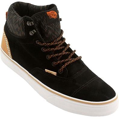 39c0733f4f Vans Mens Era Hi Ca (suede Multi) Black burnt Orange Suede Skateboarding   Amazon.co.uk  Shoes   Bags