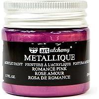 Prima Marketing Metallique Romance Pink Finnabair Art Alchemy Acrylic Paint 1.7 Fl. Oz.