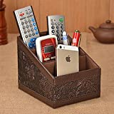 Bazaar Remote Control Storage Box Classic Office Desk Desktop Organizer Pen Sundries Holder