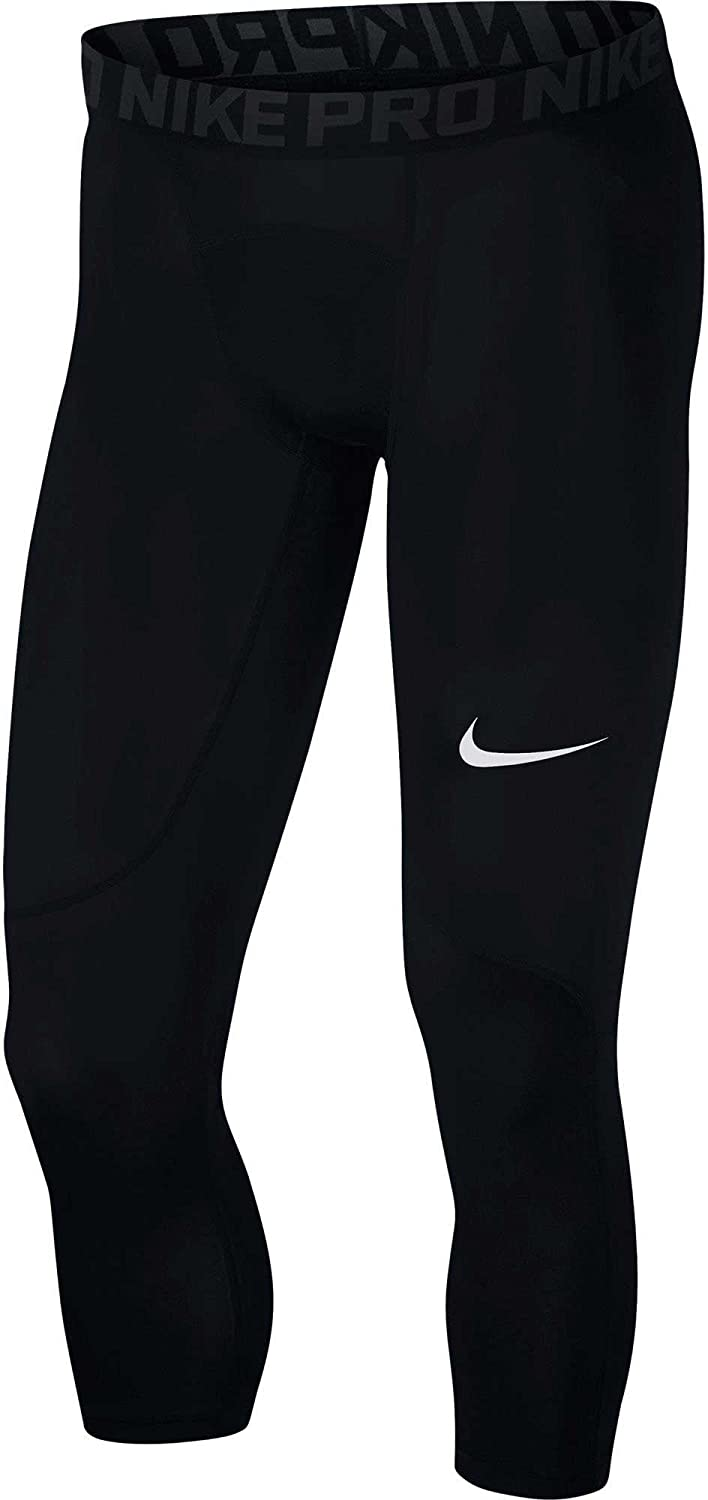 88cb9d18a7 Amazon.com : NIKE Men's Pro 3/4 Tights : Clothing