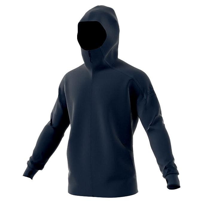 2016 Felpe Adidas Uomo Felpa Cappuccio Col Hoodie Blu