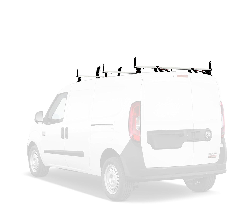 j2000 3バーvanラックW /サイドのAccessoriessフィアットドブロ2015-on ( 55インチ)ホワイト B01IPTIY7I