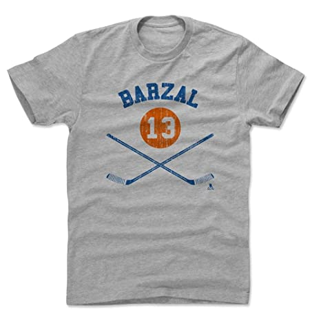 new product 86cf6 50509 Amazon.com : 500 LEVEL Mathew Barzal Shirt - New York Hockey ...
