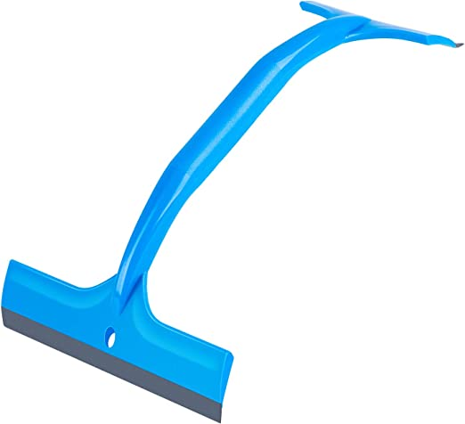 Professional Grade Window Squeegee Red Double Rubber Blade mirror squeegee