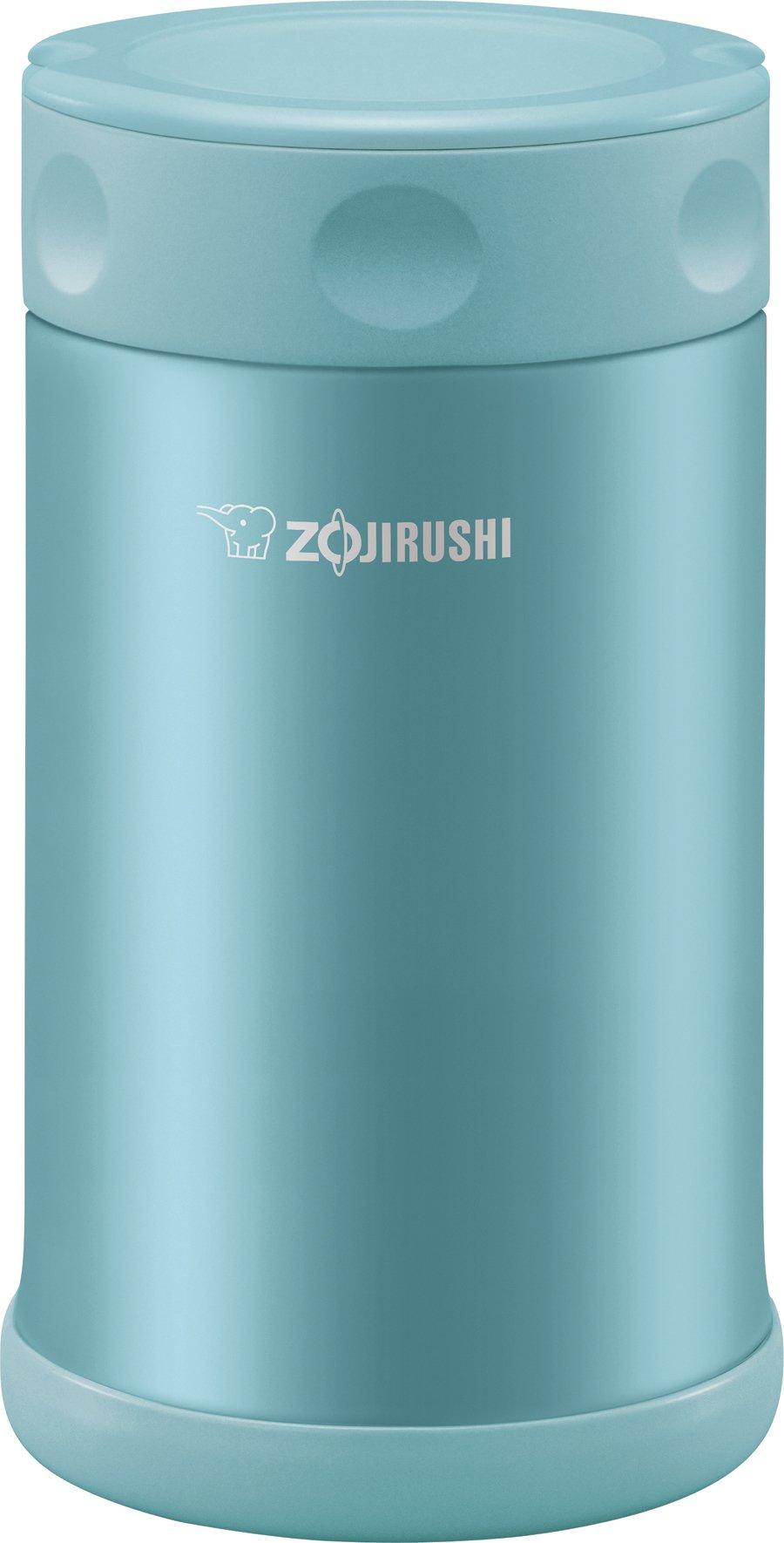 Zojirushi Stainless Steel Food Jar 25 oz./0.75 Liter, Aqua Blue