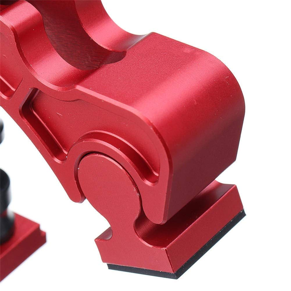 CSJ-CSJ Woodworking kit T-Track Clamp Aluminum Alloy Knuckle Clamp Adjustable Press Plate Quick Acting Hold Down Clamp Precision Durable