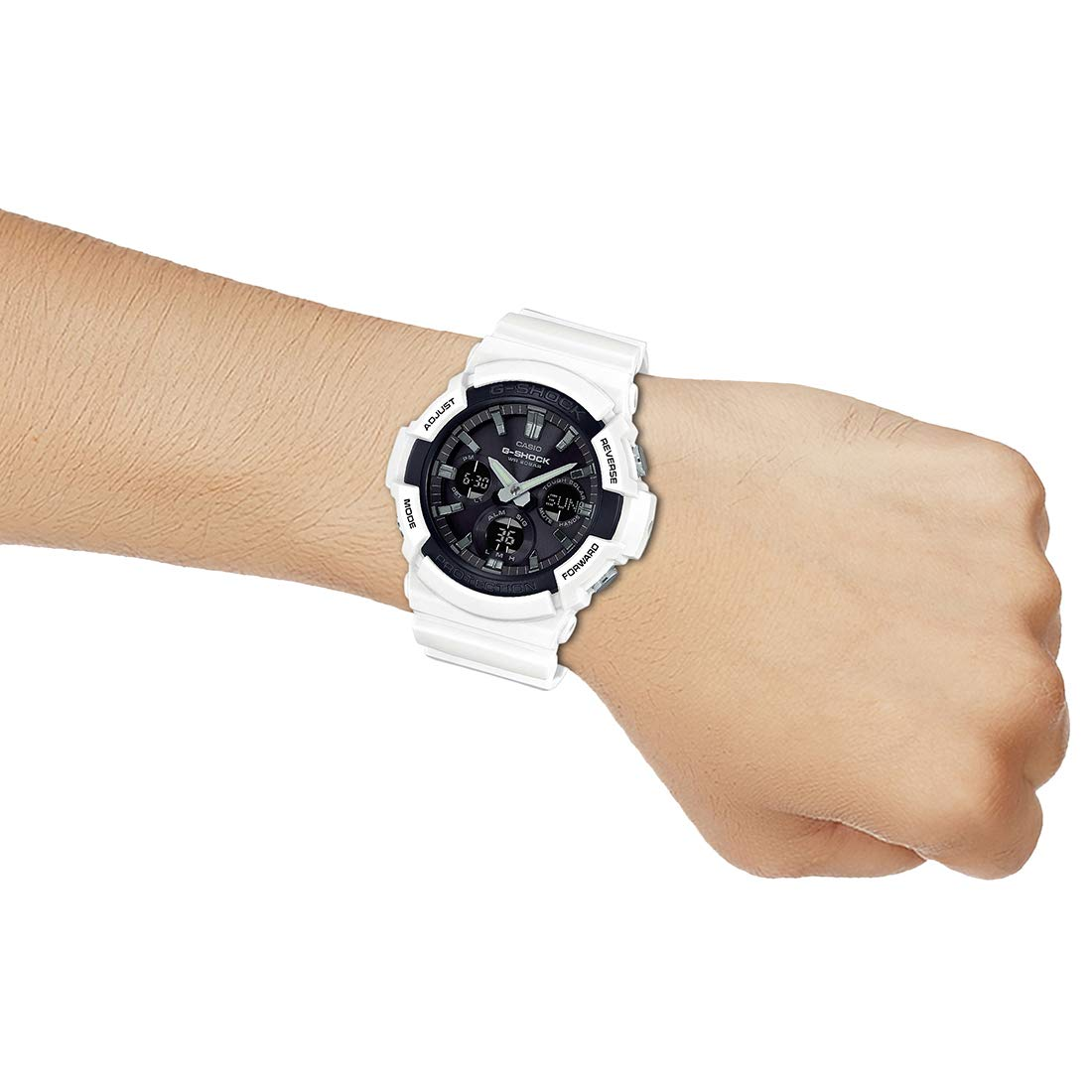 63be5f71d95a Buy Casio G-Shock Analog-Digital Black Dial Men s Watch - GAS-100B-7ADR ( G808) Online at Low Prices in India - Amazon.in