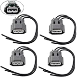 Amazon com: Ignition Coil Pack Wiring Harness Connector for Nissan