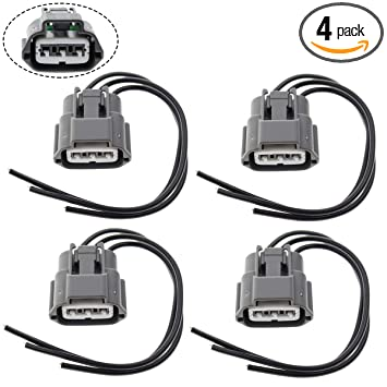 6pcs Ignition Coil Connector Harness Pigtail For Mercury Milan Sable Chevy Metro